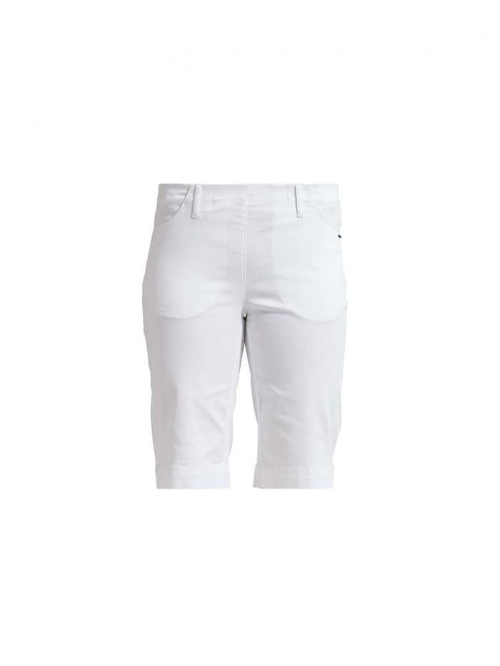 LauRie Shorts Savannah mit elastischem Bund, White