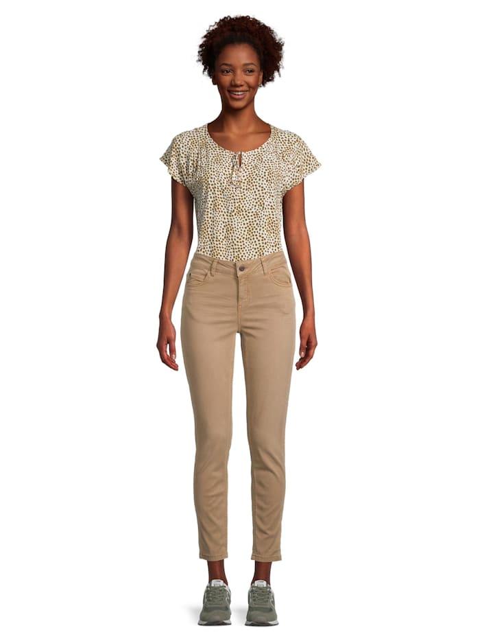 Cartoon Modern fit jeans Slim Fit Colored denim, Braun