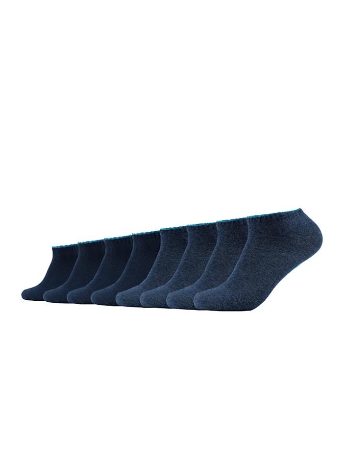 Skechers Sneakersocke im 8er-Pack mit weichem Bund, blue