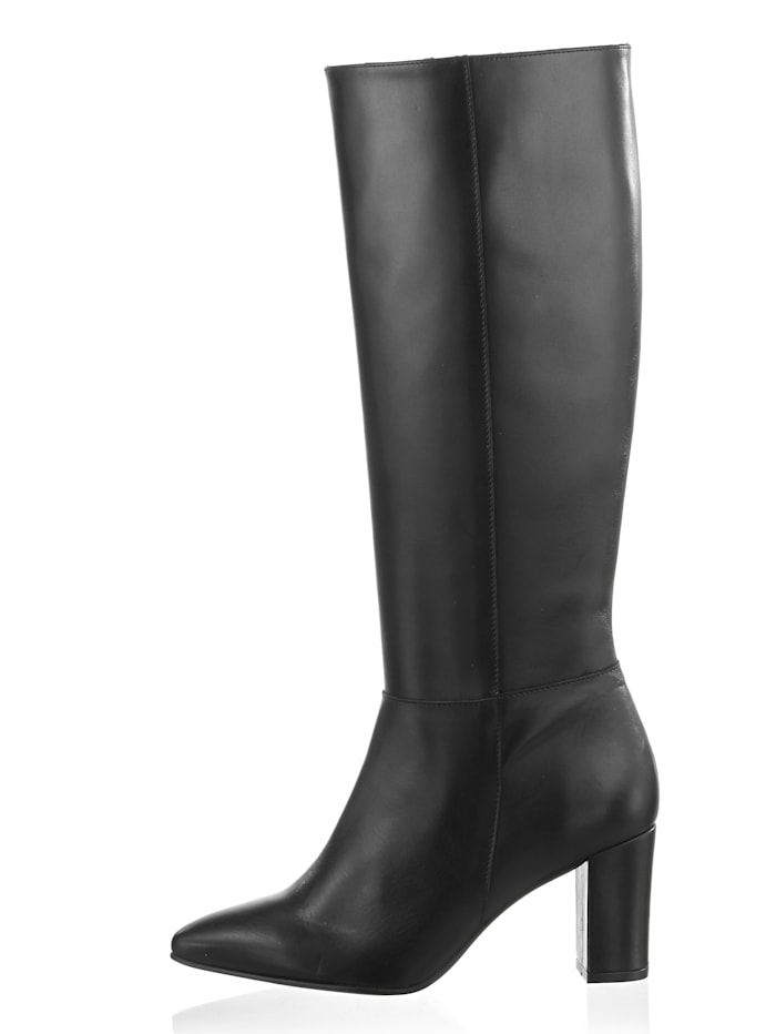 Stiefel aus Rindsnappaleder