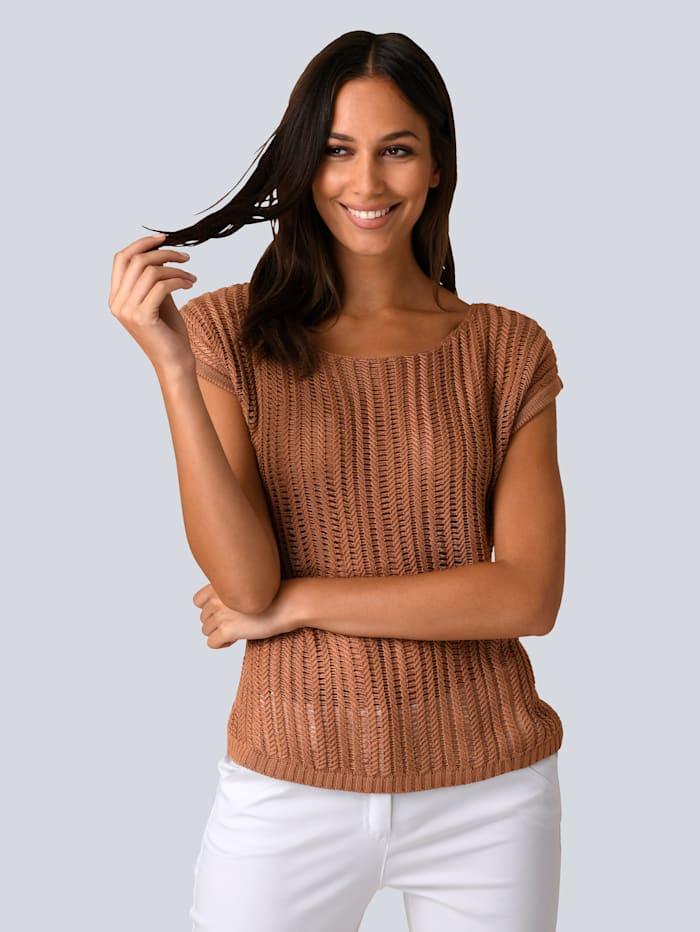 Pullover in tollem Struktur-Strick