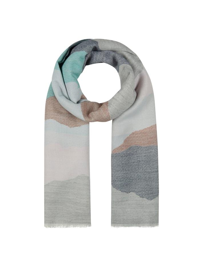 Codello Kuschelweicher Oversized-Schal, grey