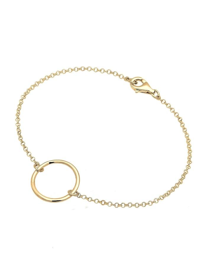 Armband Kreis 925 Sterling Silber
