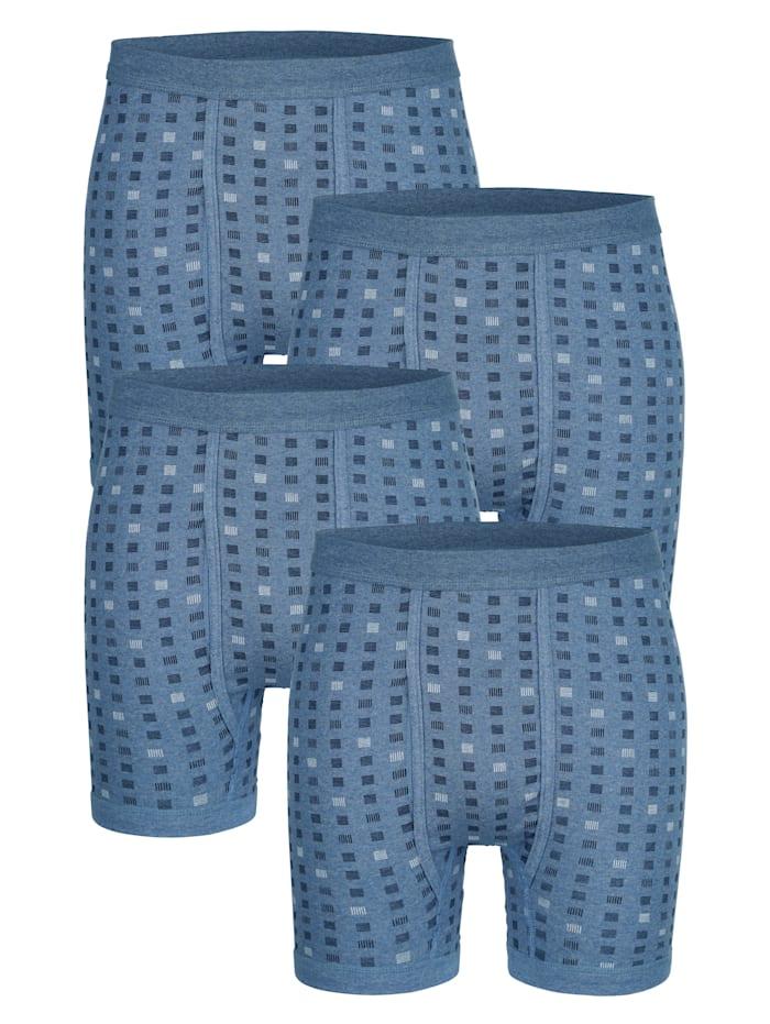 Schlüpfer im 4er-Pack, Blau