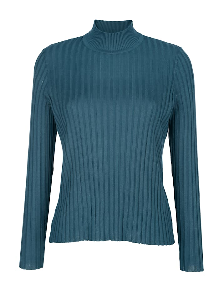 Pullover in trageangenehmer Rippenstrick-Qualität