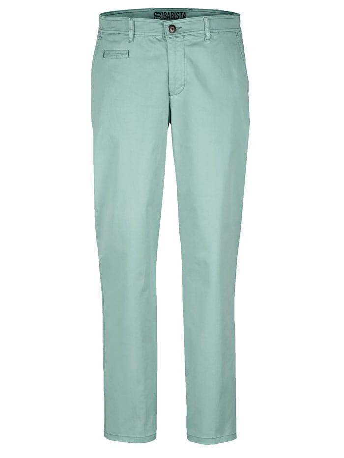 BABISTA Pantalon chino en coton PIMA, Menthe