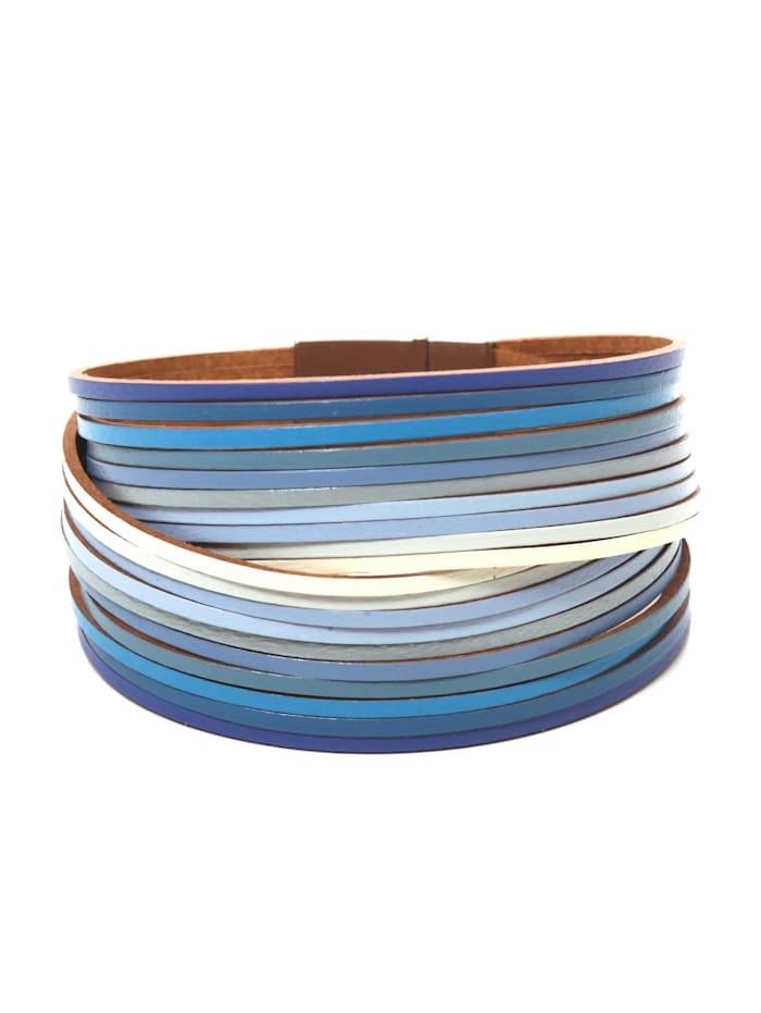Collezione Alessandro Armband Darlin, blau