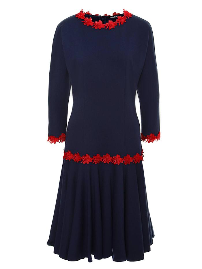 Madam-T Skaterkleid Samara, blau