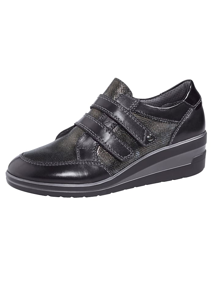 Naturläufer Chaussures basses à scratch, Noir
