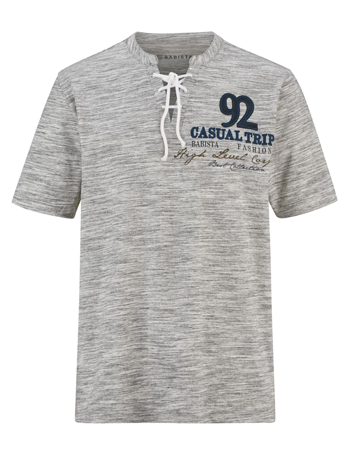 Shirt mit besonderem Kragen