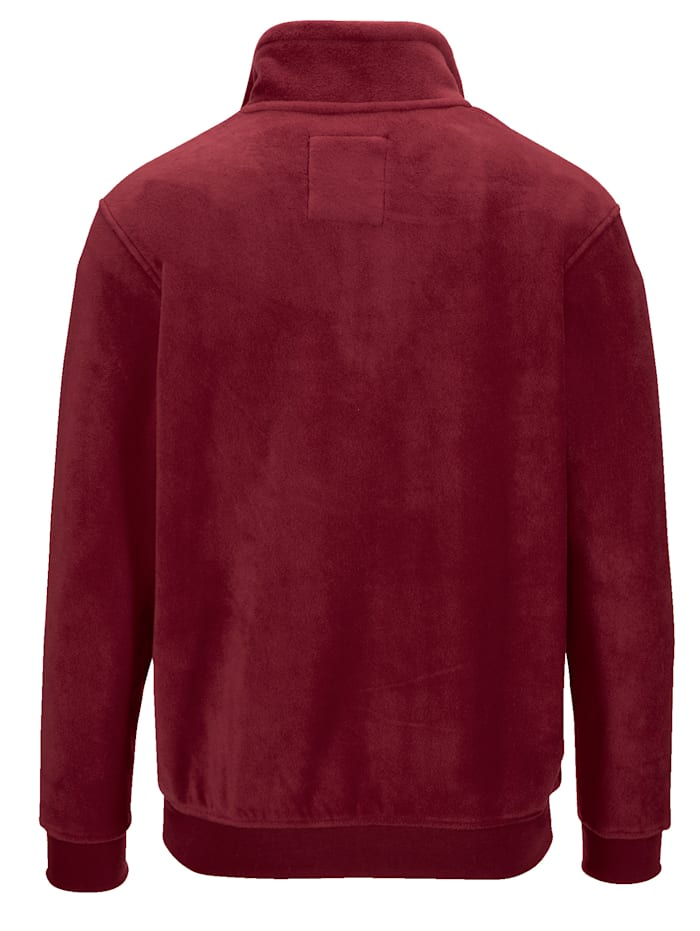 Fleece-Sweatshirt