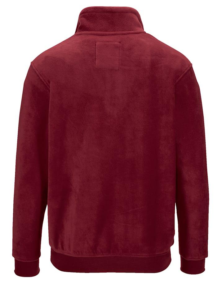 Fleece trui