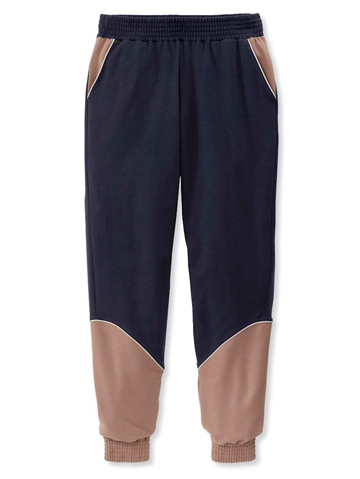 Calida Pants mit Bündchen, Compostable STANDARD 100 by OEKO-TEX zertifiziert, Dark Lapis Blue