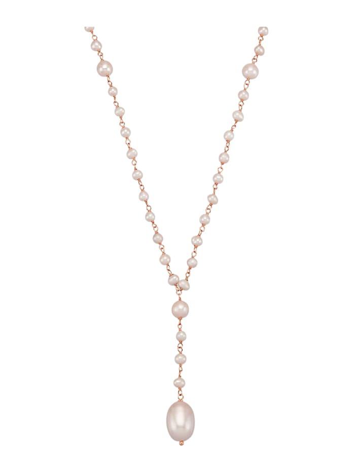 AMY VERMONT Halsband med odlade sötvattenspärlor, Vit