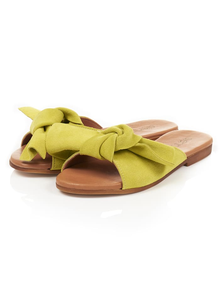 SIENNA Sandale, Gelb