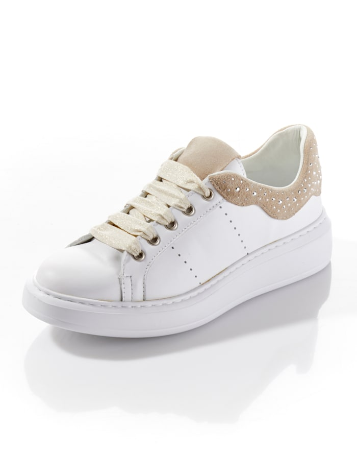 Alba Moda Sneaker, Weiß/Taupe