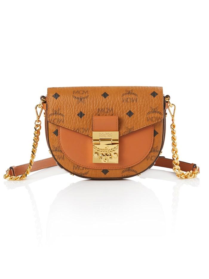 MCM Crossbody-Bag, cognac