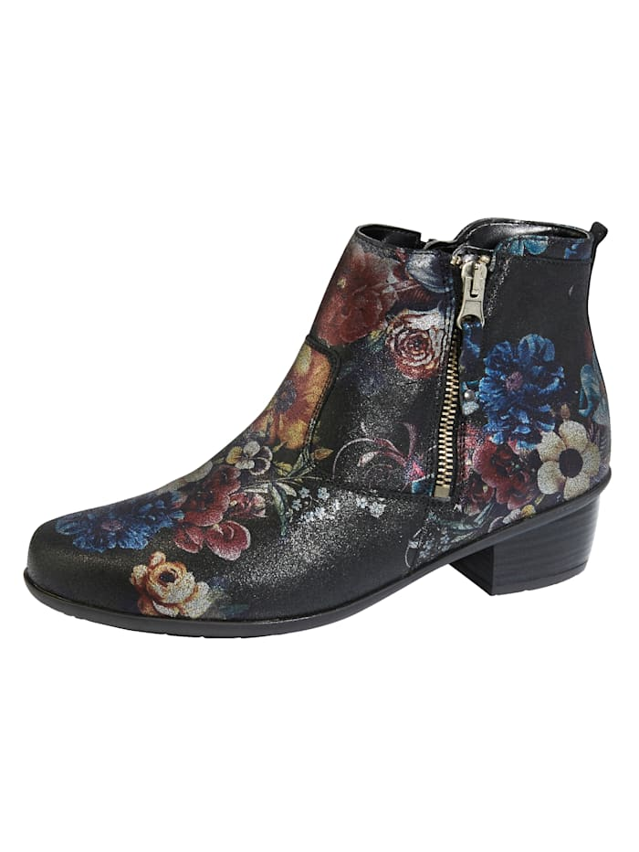 Waldläufer Ankle boots with a removable insole, Multi