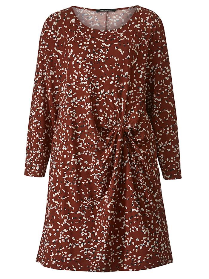 Jerseykleid mit Minimaldessin