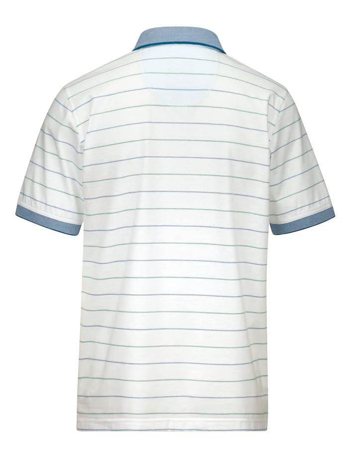 Poloshirt mit praktischen Materialeigenschaften