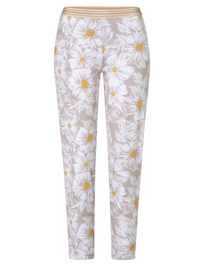 Skiny Pyjamahose, Grau