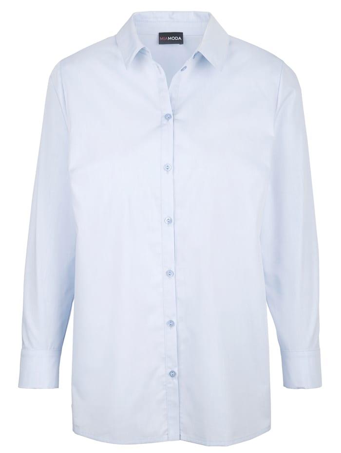 Hemdbluse aus edler Baumwoll-Misch-Qualität