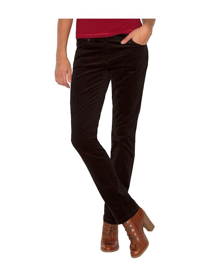 Hose aus Feincord mit geradem Bein