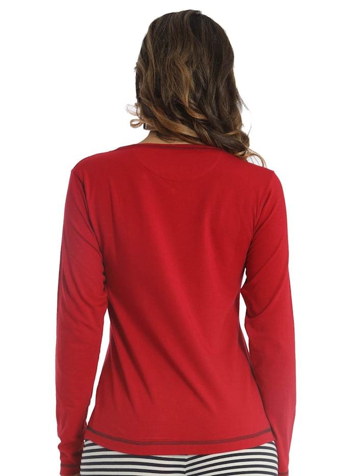 Damen T-Shirt Lang Sea Spirit