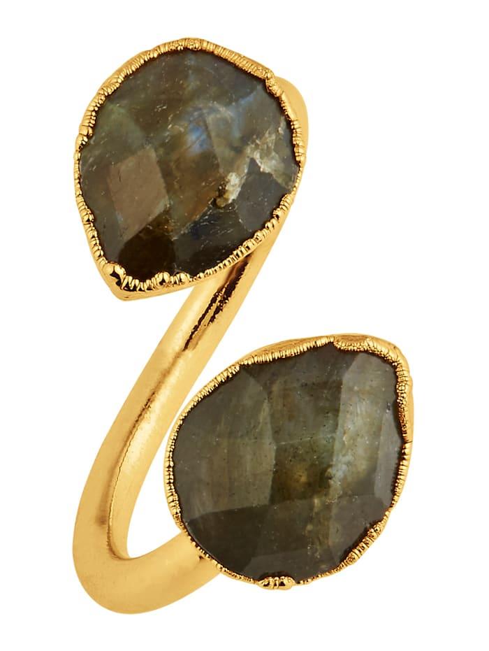 SIENNA Ring, Gelbgoldfarben