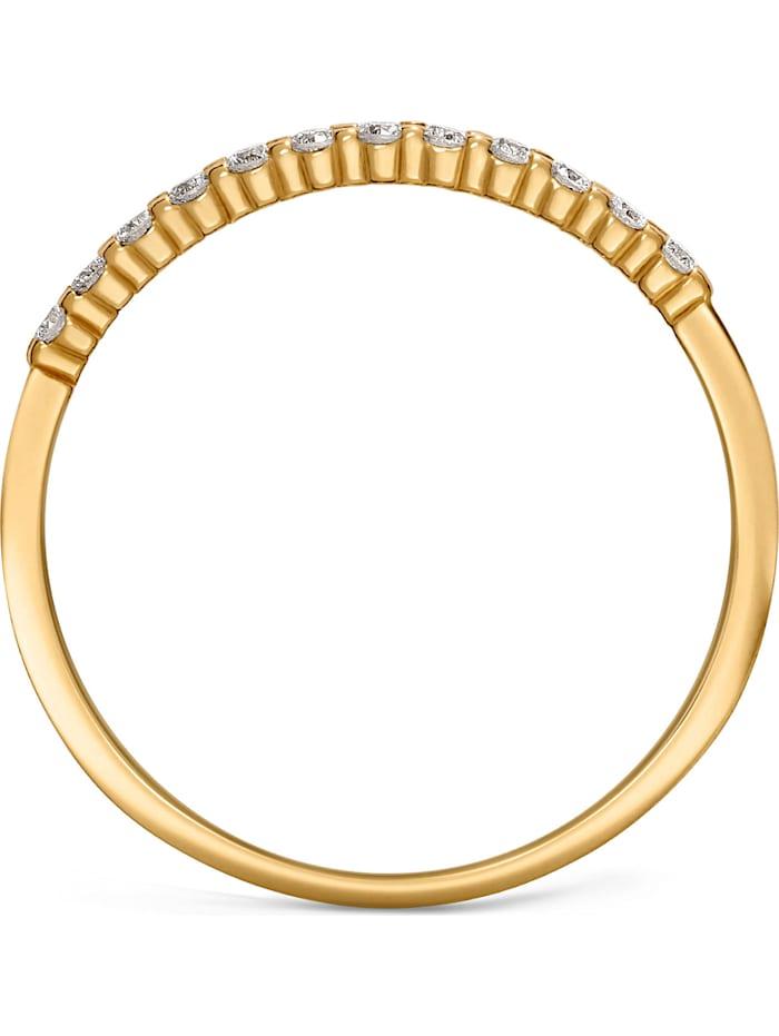 CHRIST Diamonds Damen-Damenring 12 Diamant