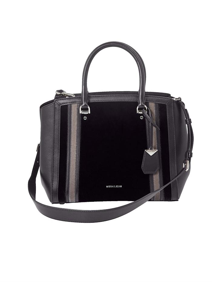 Handtasche in Samt-Optik