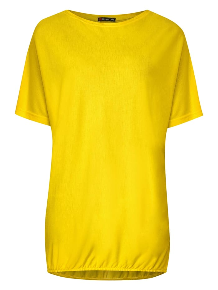 Street One Lässiges Shirt, shiny yellow