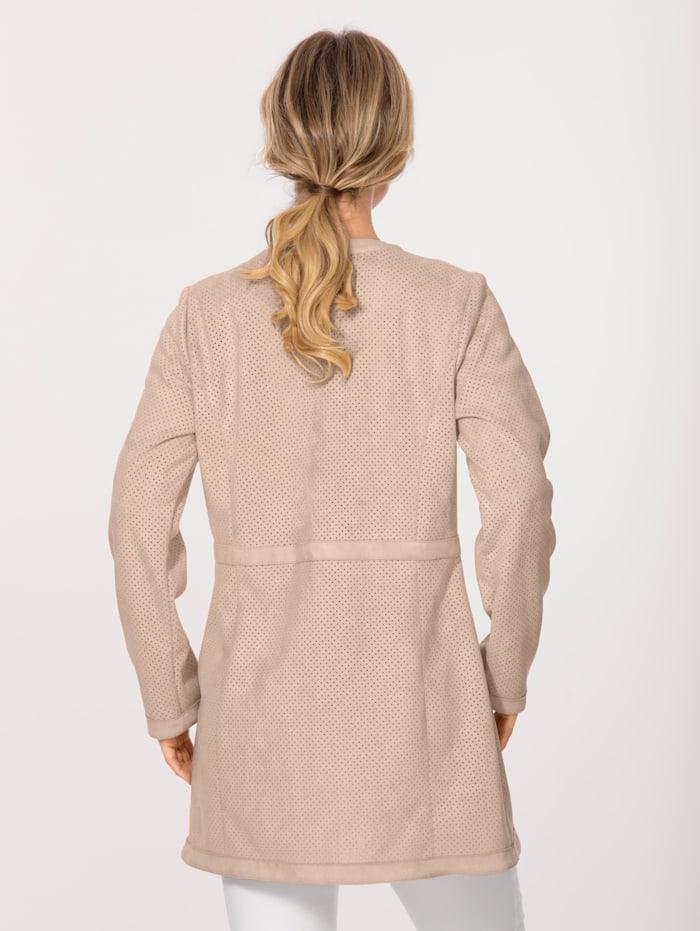 Lange blazer metfraaie details