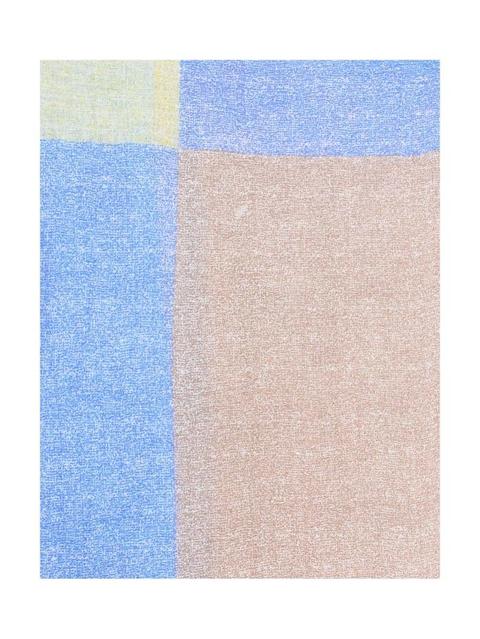 Schal Color Squares in modischer Optik