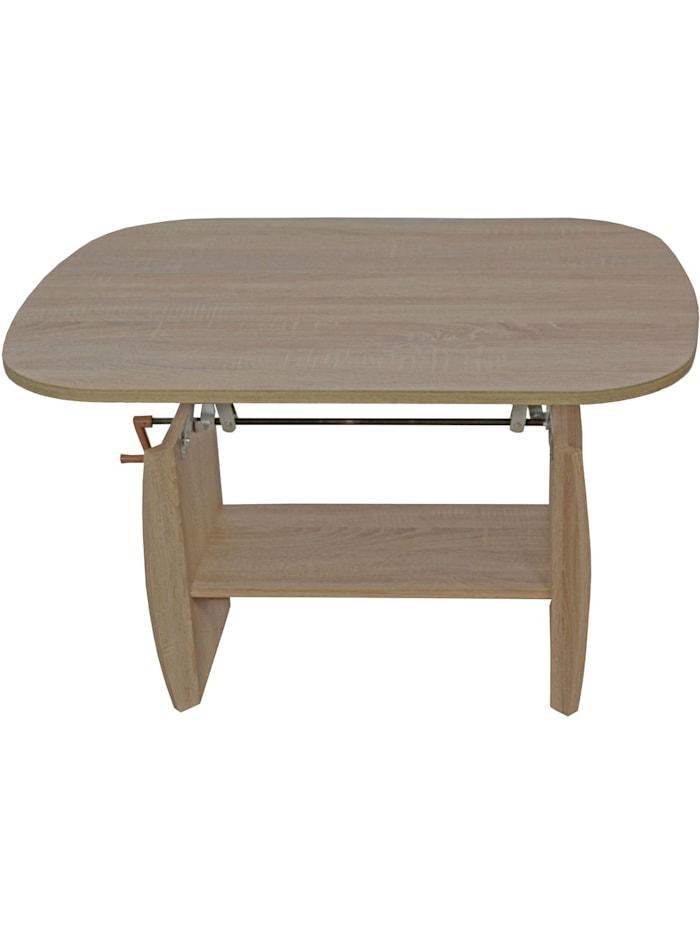 Möbel-Direkt-Online Couchtisch Merlin, Sonoma-Eiche-Nachbildung