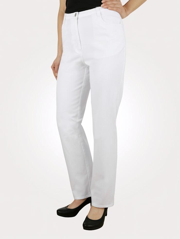 Paola Classic jeans in a premium design, White