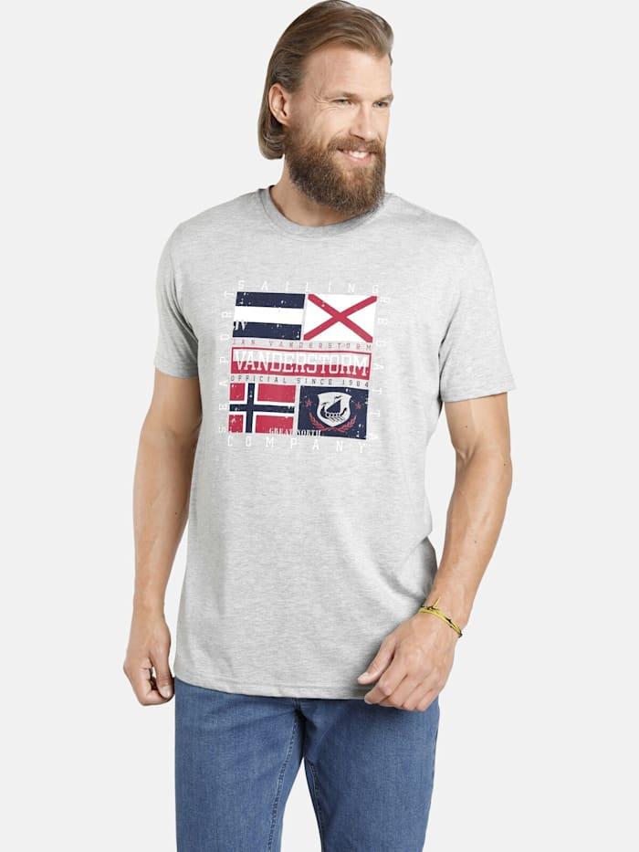 Jan Vanderstorm Jan Vanderstorm Doppelpack T-Shirt PREBEN, grau