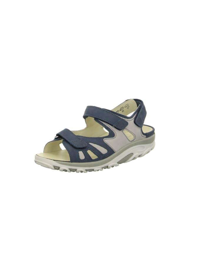 Waldläufer Sandalen/Sandaletten, blau