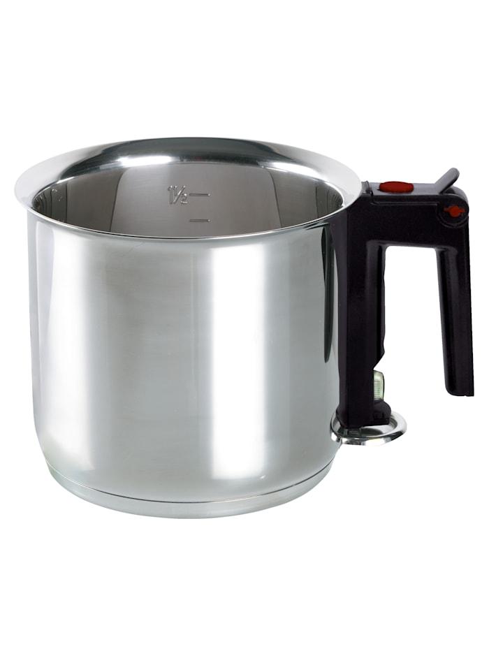 """ELO Haudutuskattila """"My kitchen"""", hopeanvärinen/musta"""