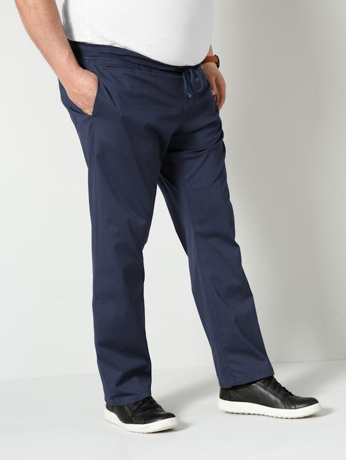 Men Plus Hose Spezialschnitt, Marineblau