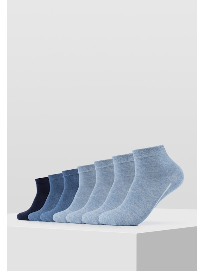 Sneakersocke ca-soft im 7er-Pack ohne Gummidruck
