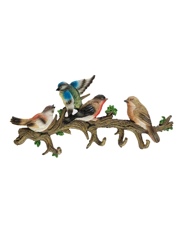 Wanddecoratie Vogels, Multicolor