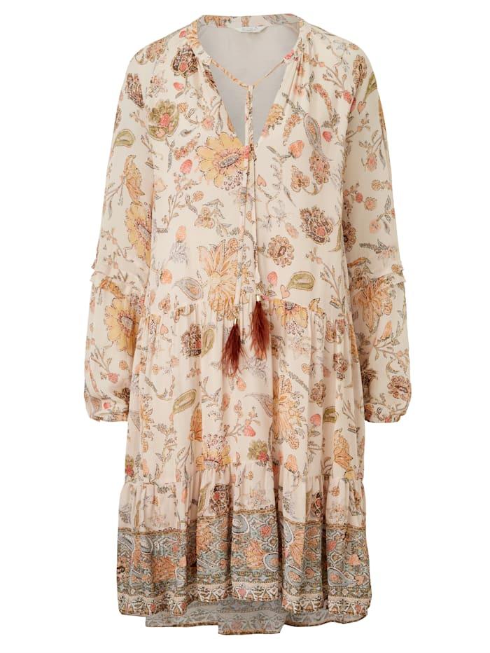 FROGBOX Kleid, Nude