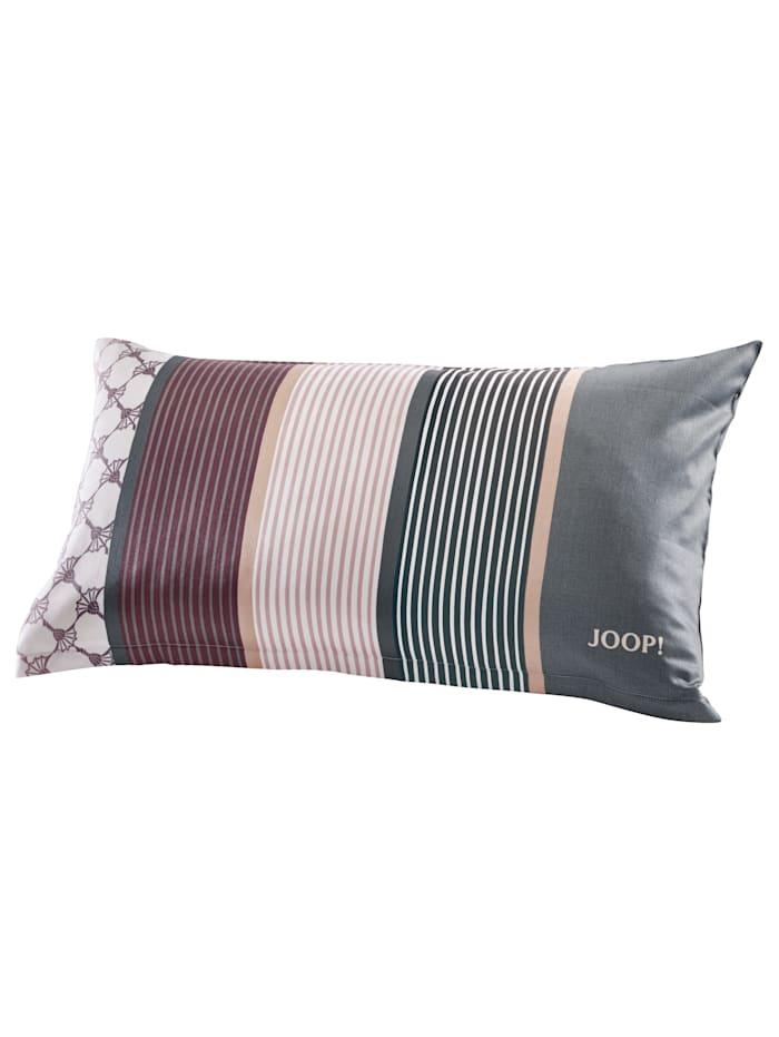 Mako-saténová posteľná bielizeň'Cornflower Stripes'