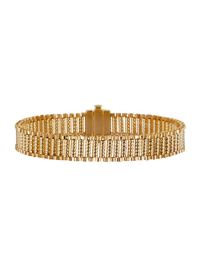Diemer Gold Armband in Gelbgold 585, Gelbgoldfarben
