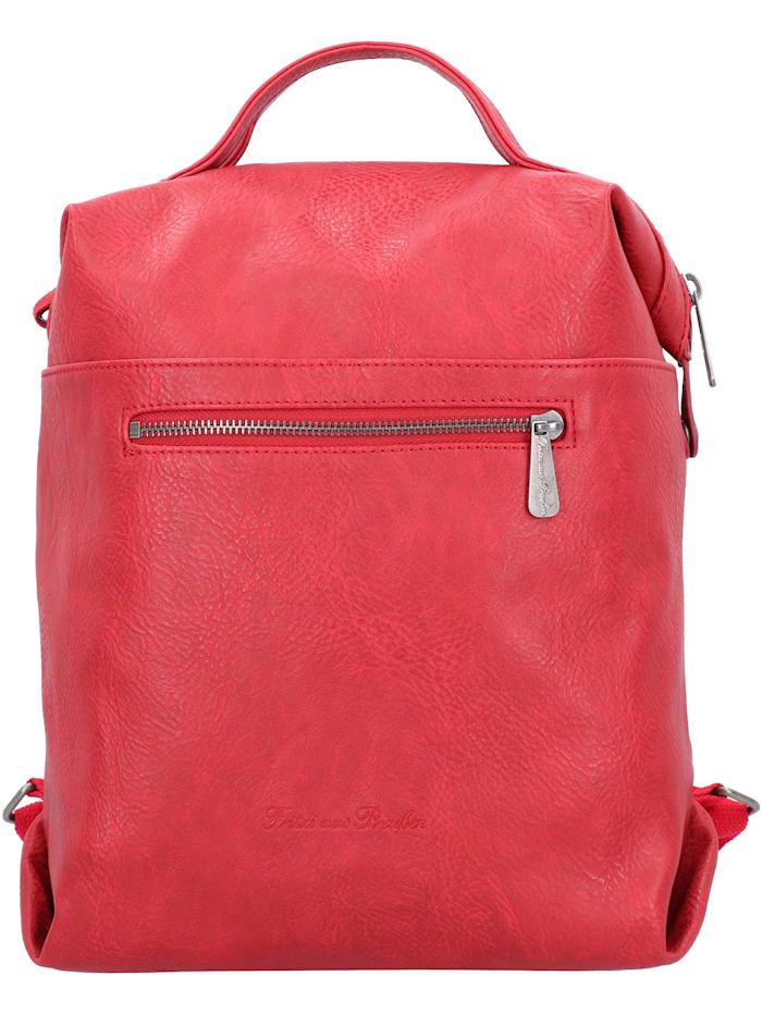 Fritzi aus Preußen Harper Mini City Rucksack 33 cm, red