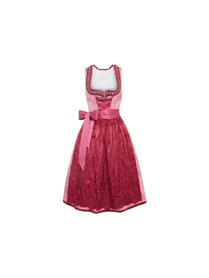 KRÜGER collection Midi Dirndl, Pink
