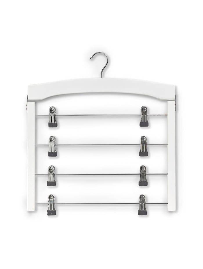 HTI-Living Mehrfachbügel Rockbügel, Weiß