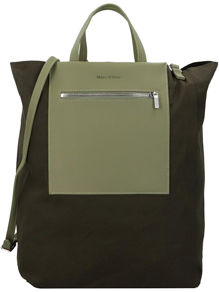 Marc O'Polo Palermo Shopper Tasche mit Wendeoption 38 cm, green
