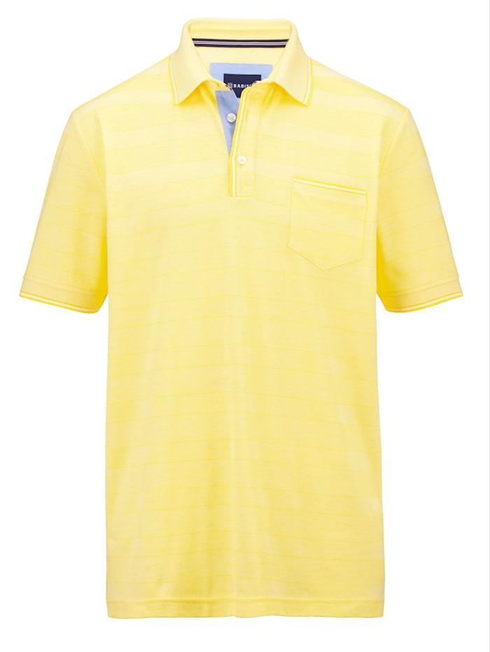 BABISTA Poloshirt van piquémateriaal, Geel